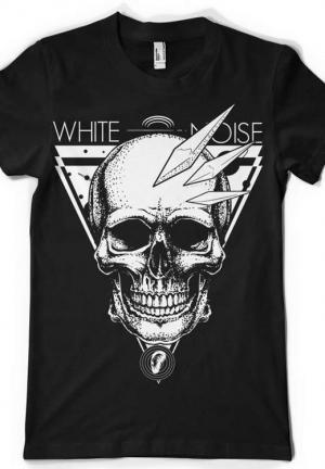 футболка white noise