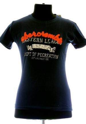 футболка abercrombie-fitch navy