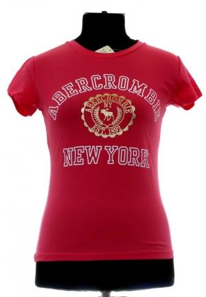 футболка abercrombie-fitch c лого