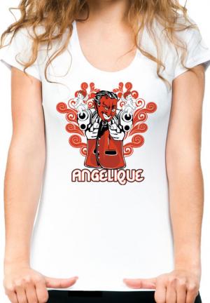 футболка angelique