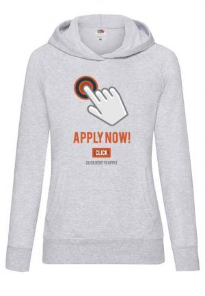 худи apply now grey girls