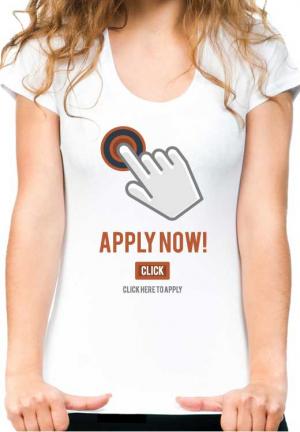 футболка apply now girls