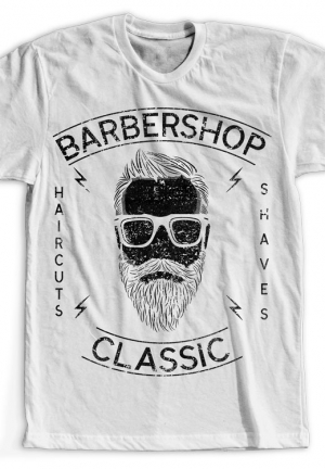 футболка barbershop classic