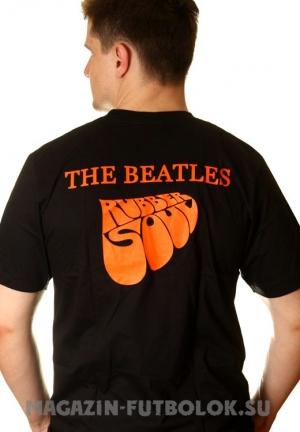 купить футболку beatles rubber soul