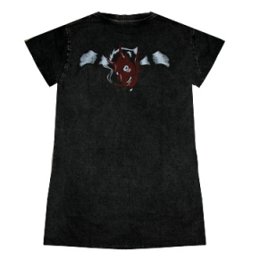 прикольная футболка для девушек girl diablo