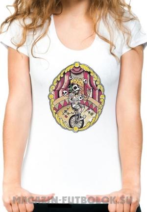 футболка жонглирующий циркач