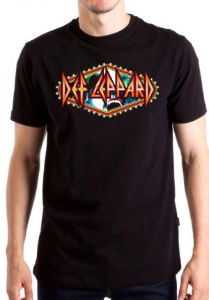 футболка def leppard hysteria logo