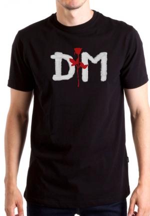 футболка depeche mode logo