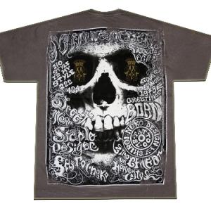 дизайнерская футболка с принтом rose hair skull