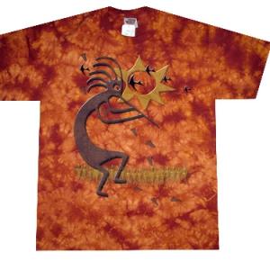 этническая футболка абориген