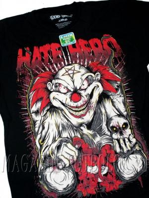 evil clown — футболка с клоуном