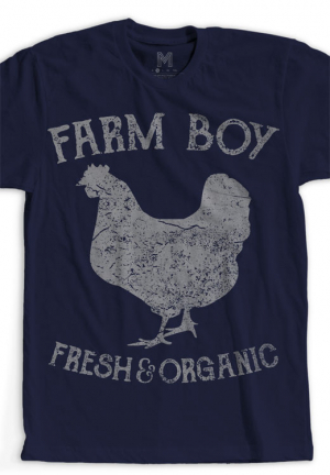 футболка farm boy chicken