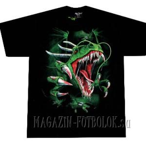 футболка с динозавром