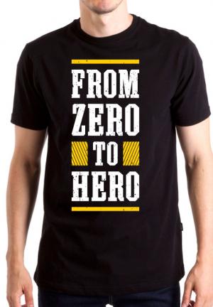 футболка from zero to hero