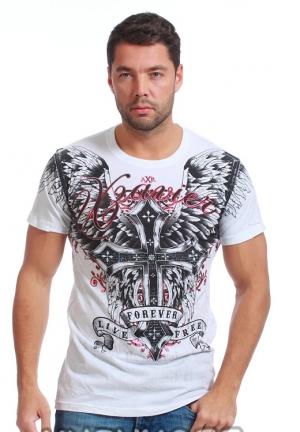футболка xzavier l1589wht