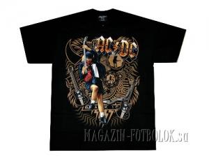 футболка ac/dc black ice ангус янг