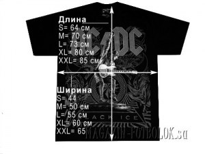футболка ac-dc let there be rock