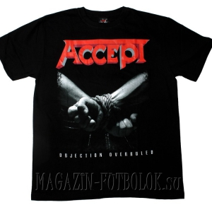 футболка accept objection overruled