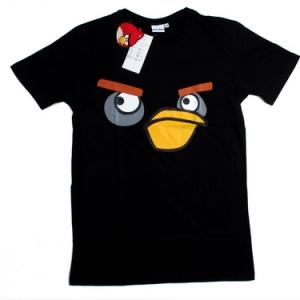 футболка angry birds птичка-бомбер