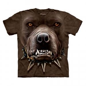 футболка angry pitbull