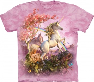 футболка awesome unicorn