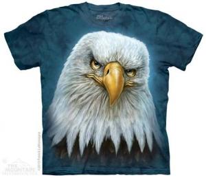 футболка bald eagle totem