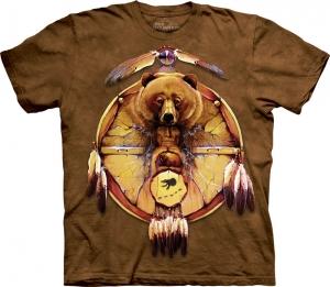 футболка bear shield