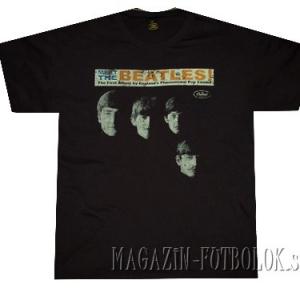 футболка beatles - meet the beatles