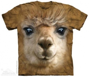 футболка big face alpaca