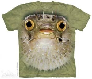 футболка big face blow fish
