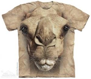 футболка big face camel