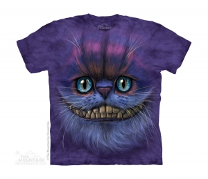 футболка big face cheshire cat