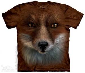 футболка big face fox