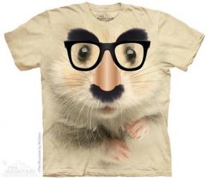 футболка big face hamster mystery