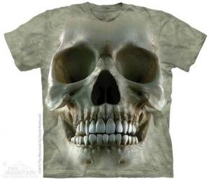 футболка big face skull