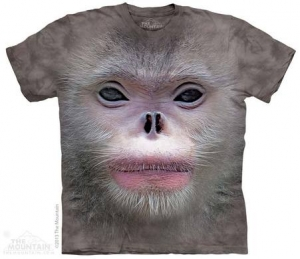 футболка big face snub nose monkey