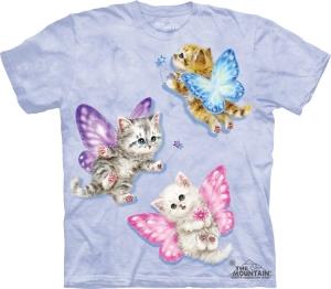 футболка butterfly kitten fairies