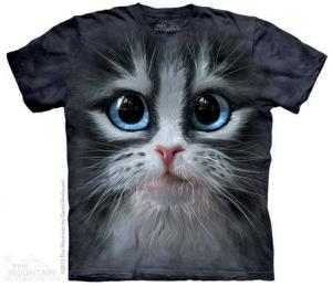 детская футболка cutie pie kitten face