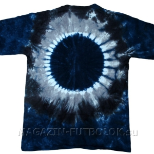 футболка dark side abyss tie-dye