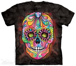 футболка day  dead