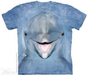 футболка dolphin face