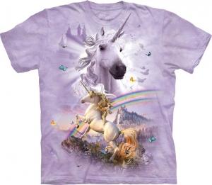 футболка double rainbow unicord