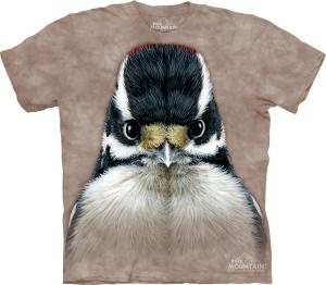 футболка downy woodpecker