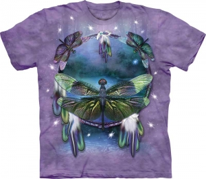 футболка dragonfly dreamcatcher