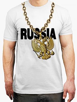 футболка герб россии для реперов