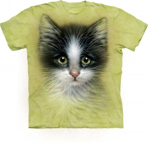 футболка green eyed kitten