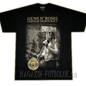футболка  guns n` roses chinese democracy