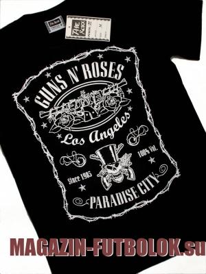 футболка guns`n`roses paradise city