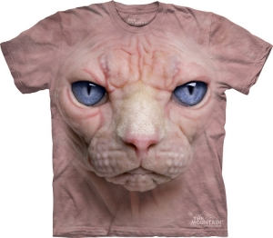 футболка hairless pussycat face