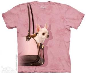 футболка handbag chihuahua